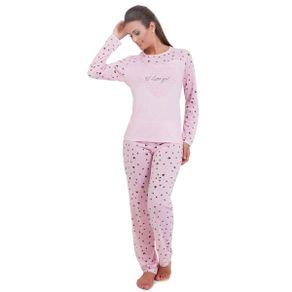 Pijama-Feminino-Adulto-com-Estampa-na-Peca-Inteira-de-Passaros-Victory