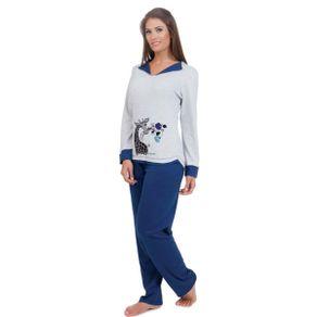Pijama-Adulto-Charme-com-Detalhe-na-Gola-e-Estampas-Victory