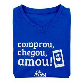 Camiseta-Feminina-Comprou-Chegou-Amou-Miess