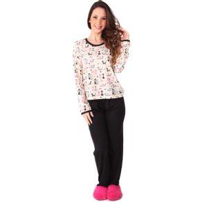 Pijama-em-algodao-blusa-com-estampa-de-gatinhos-e-calca-lisa---Gatto-Style