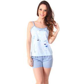 Short-doll-com-alca-blusinha-estampada-e-shorts-listrado---Gatto-Style