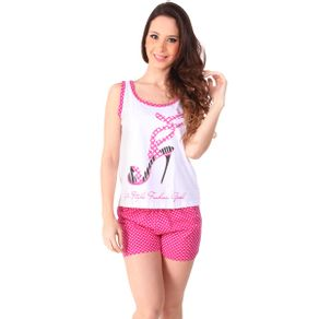 Short-doll-em-algodao-regata-estampada-e-shorts-poa---Gatto-Style
